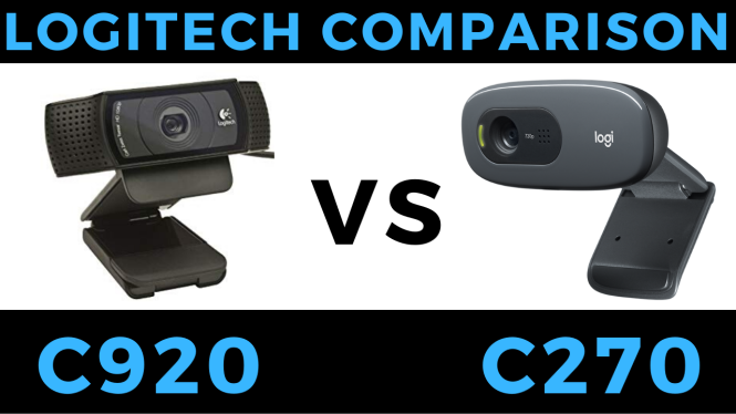 logitech c270 vs c920 review comparison blog