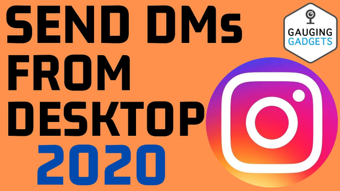 send direct messages instagram from desktop laptop pc chromebook 2020 dm 2