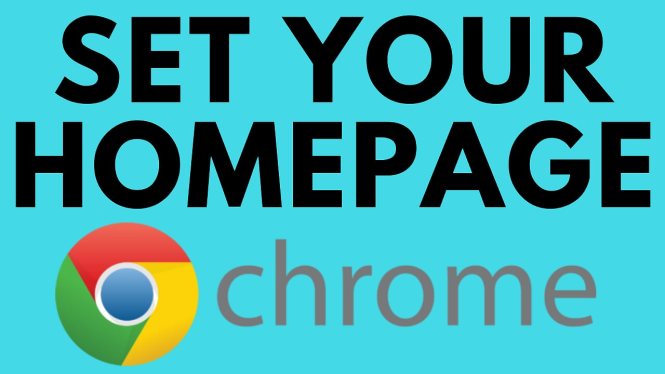 set google chrome homepage