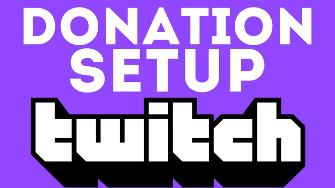 Twitch donation link and setup tutorial