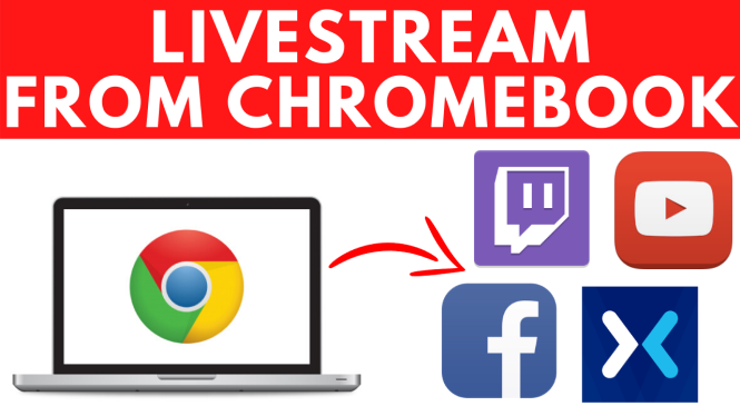 How to livestream on Chromebook