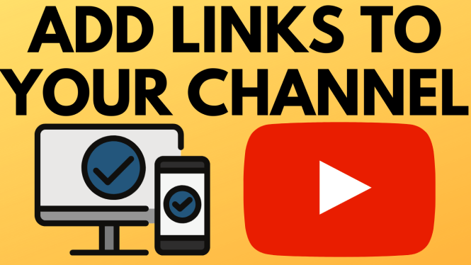 add links to youtube channel