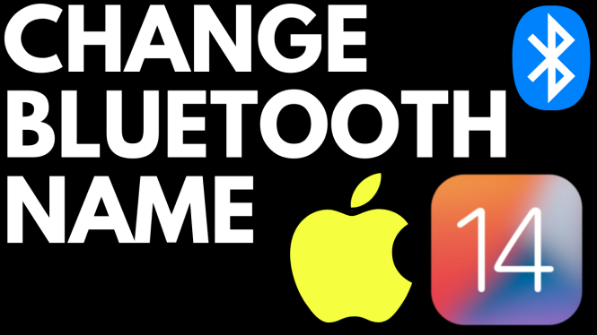 change bluetooth name iphone