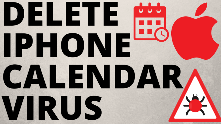 How to remove calendar spam from iPhone